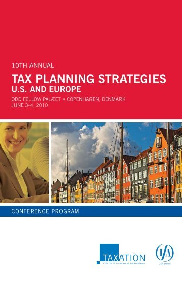 Tax Planning Strategies – US and Europe - The Ruchelman Law Firm