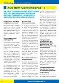Amtliche Mitteilung der Marktgemeinde AM KOBERNAUSSERWALD - Seite 6