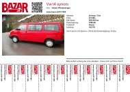 Vw t4 syncro - Bazar.at