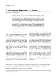 Use of Antioxidants Vitamins and Minerals in Age-related Eye