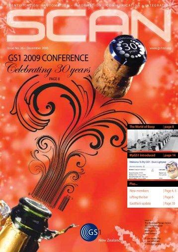 Celebrating 30 years - GS1 New Zealand