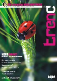 08. Mai 2005 - Pocketmagazin trend-sign