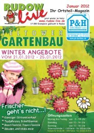 Januar 2012 Ihr' Ortsteil-Magazin - Rudow-Live