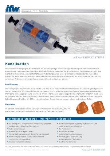 Kanalisation - ifw