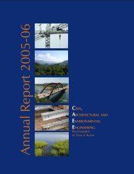 Annual Report 2005-06 - Department of Civil Engineering - The ...