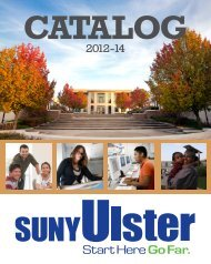 Catalog - Ulster County Community College