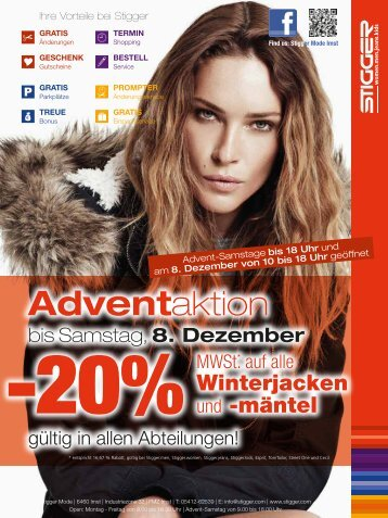 Adventaktion - Stigger Mode - FMZ Imst