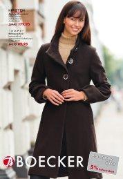 Modischer Wintermantel Wolle/Cashmere, auch in schwarz, Größen ...