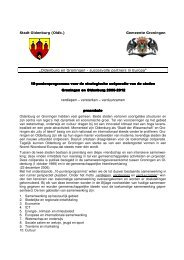 Tienpuntenprogramma voor de strategische coöperatie van de steden