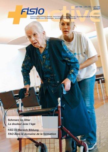 info - Schweizer Physiotherapie Verband
