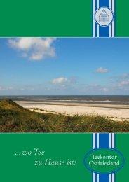 Liebe Teekenner und Genießer - Teekontor Ostfriesland