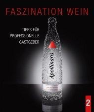 Welches Wasser passt zu welchem Wein? - PerfektServiert.de