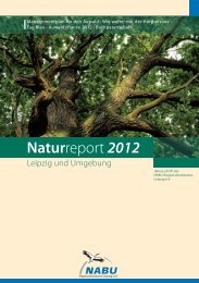 Naturreport 2012 - NABU Sachsen