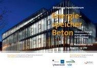 Einladung Expertenforum 22. November 2012 Beginn: 14 Uhr