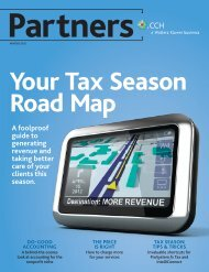 Your Tax Season Road Map - CCH