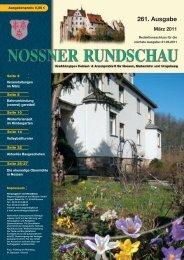 Maerz 2011 - Nossner Rundschau
