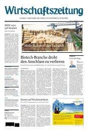holzregion ostbayern - Wirtschaftszeitung