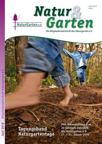 Tagungsband Naturgartentage - Naturgarten eV