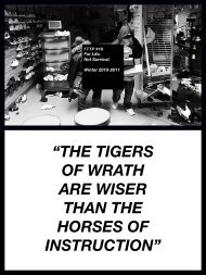 """""""The Tigers of wraTh are wiser Than The horses of insTrucTion"""""""
