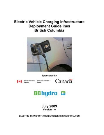 Electric Vehicle Charging Infrastructure Deployment ... - BC Hydro
