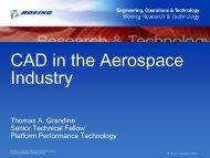 Thomas Grandine, CAD in the aerospace industry - Saga Network