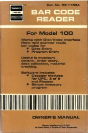 Model 100 Bar Code R.. - ClassicCmp...