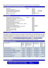 application form - Europa-Universität Viadrina Frankfurt