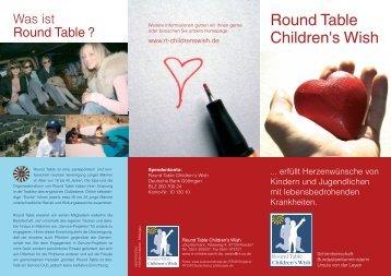 Round Table Children's Wish