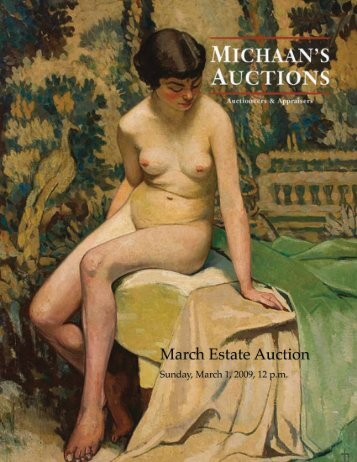View PDF catalog - Michaan's Auctions