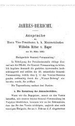 JAHRES-BEEICHT. - Oberösterreichisches Landesmuseum