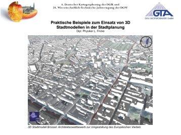 Praktische Beispiele zum Einsatz von 3D Stadtmodellen in - GTA ...
