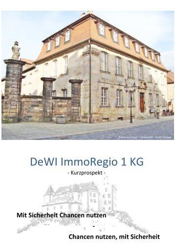 Private Placement I Kurzprospekt neue grafiken_web - DeWI Gruppe