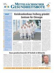 Ausgabe Januar 2012 - Landkreis Mittweida Krankenhaus gGmbH