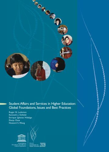 Student affairs and services in higher education - unesdoc - Unesco