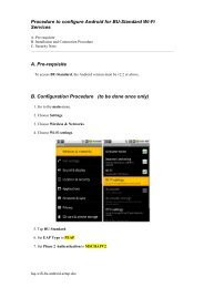 Procedure to configure Android for BU-Standard Wi-Fi Services A ...