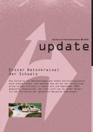 Erster Betonkreisel der Schweiz - CemSuisse