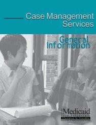 Wisconsin Medicaid Case Management Handbook