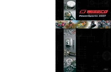 Wiseco - 2007 Complete Powersports Catalog