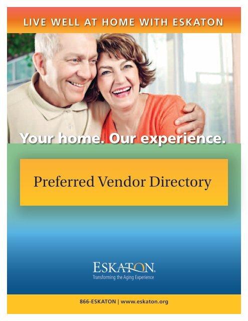 Preferred Vendor Directory - Eskaton