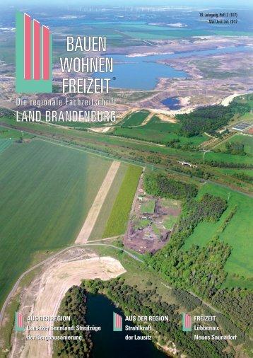 Neues Saunadorf AUS DER REGION Lausitzer Seenland