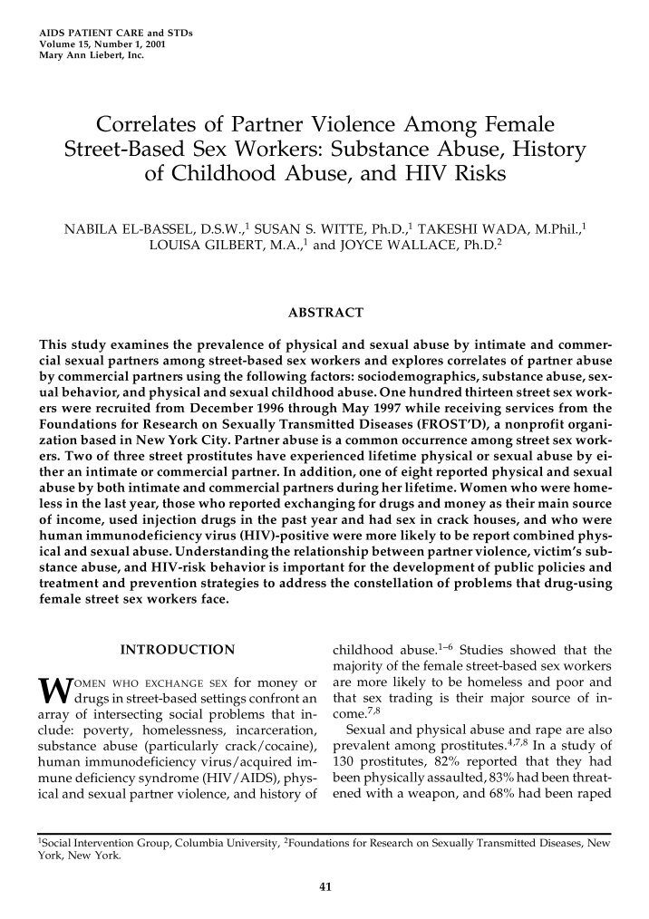 hiv positive males and substance abuse