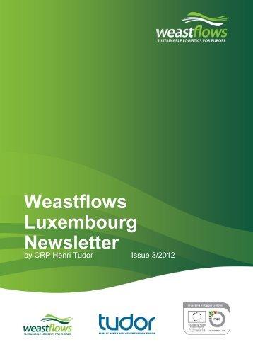 Weastflows Luxembourg Newsletter - CRP Henri Tudor
