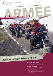 a k t u e l l - Logistikbasis der Armee LBA - admin.ch
