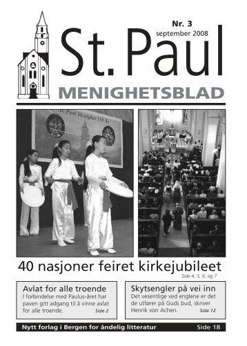 Menighetsbladet - St. Paul Menighet