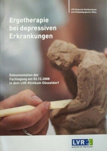 Ergotherapie bei depressiven Erkrankungen - Landschaftsverband ...