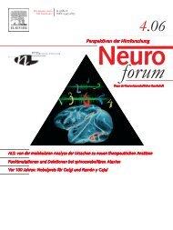 ALS: von der molekularen Analyse der Ursachen zu neuen ...