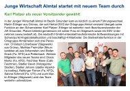 Junge Wirtschaft Almtal startet mit neuem Team durch - bei ...