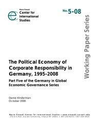 No.5-08 Working Paper Series - Fakultät für Sozialwissenschaft der ...