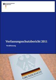 Verfassungsschutzbericht 2011 - Bundesamt für Verfassungsschutz