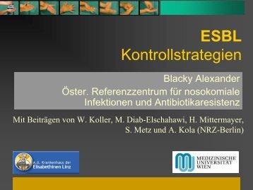 ESBL Kontrollstrategien